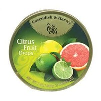 Cavendish and Harvey fruit tins